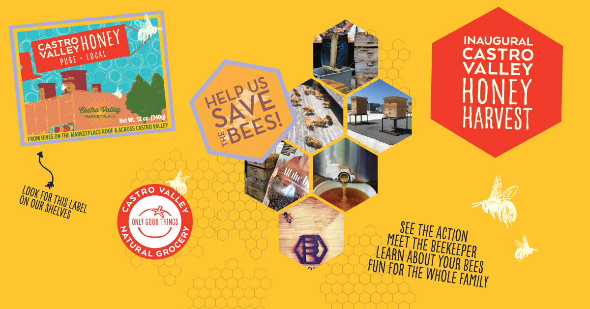 Castro Valley Honey Harvest 2020 Flyer