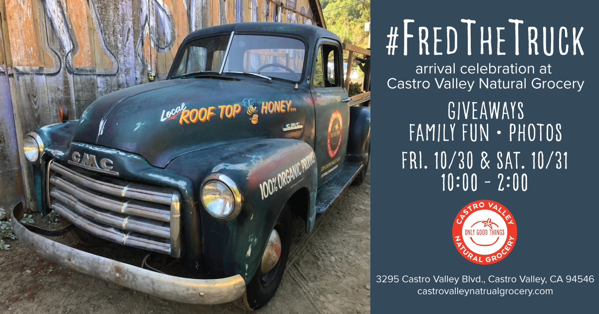 Fred the Truck Unveiling Castro Valley